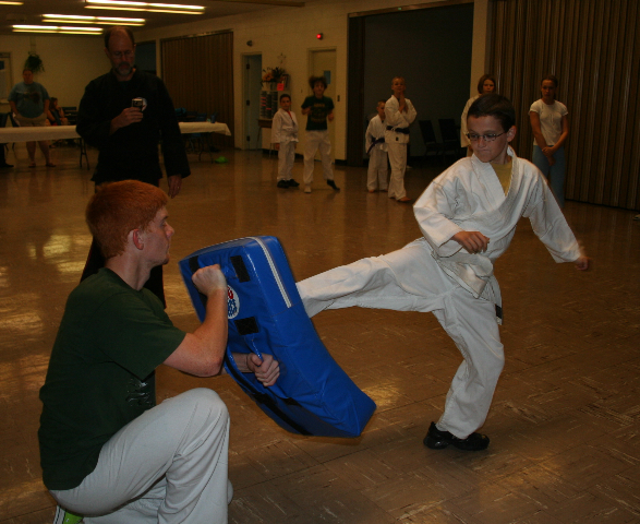 Karate For Christ Kick-A-Thon 2009