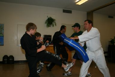 Grace Martial Arts Kicking