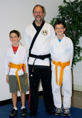 Grace Martial Arts Gold Belts - Nov. 15, 2010