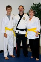 Grace Martial Arts Yellow Belts - Nov. 15, 2010