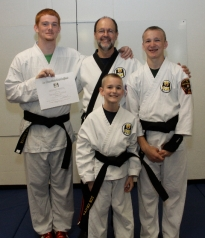 New Black Belts!