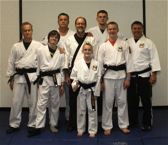 Grace Martial Arts Black Belts