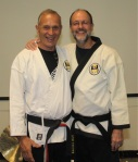 Grand Master Robert Xavier and Sensei Mark McGee