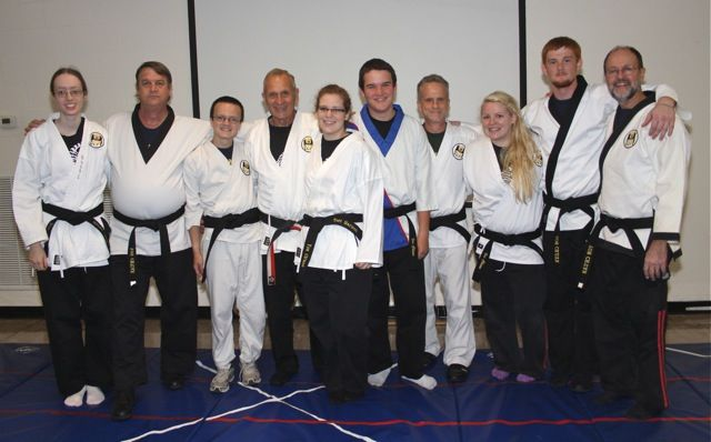 Master Xavier and Black Belts
