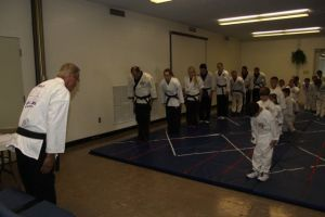 Master Xavier with Grace Martial Arts Class