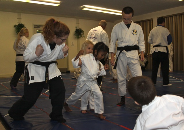 Master Xavier's Students Training 1