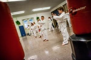 Fun with martial arts!