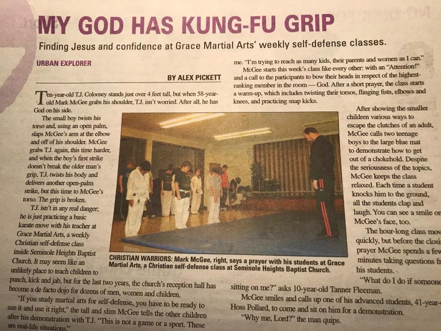 GMA Newspaper Article